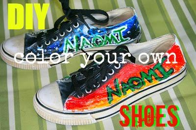 DIY Color Shoes
