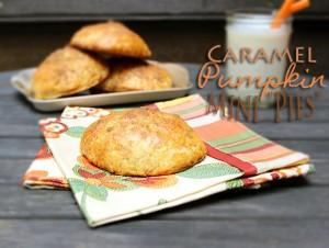 Caramel Pumpkin Mini Pies
