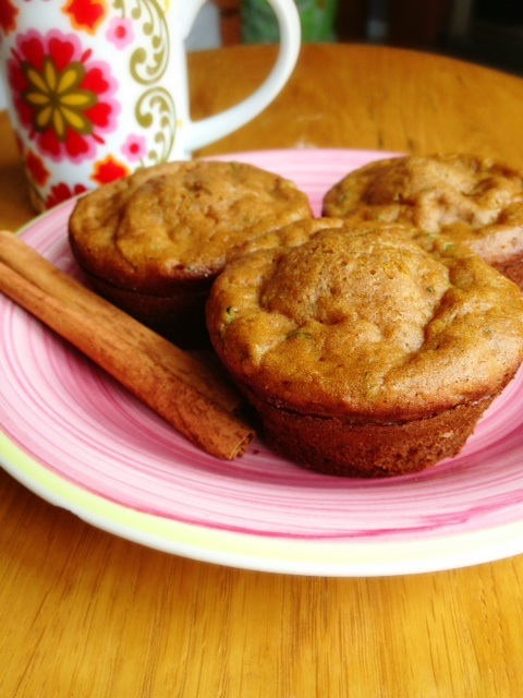 Fall Harvest Recipes: Harvest Spice Muffins