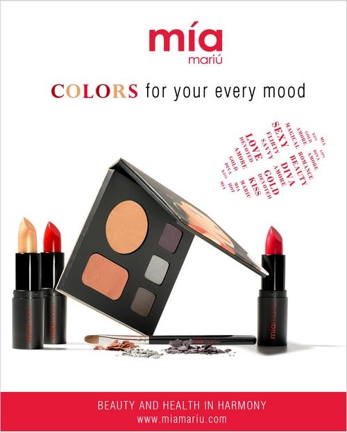 Mia Mariu Colors Campaign Mineral Makeup