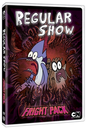 regular show fright pack DVD