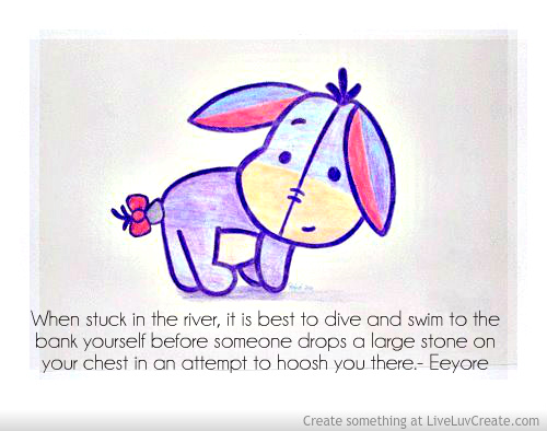 Eeyore Children's Book Quotes for Literacy