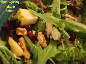 Fall Harvest Recipes Thanksgiving Salad