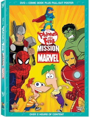 Phineas & Ferb Mission Marvel