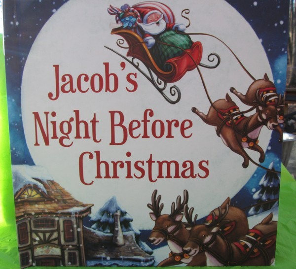 Chronicle Books Personalize Twas the Night Before Christmas