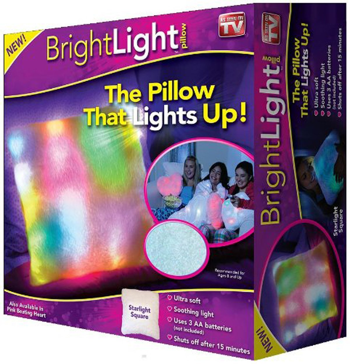 Bright light pillow light up your kid 39 s holiday pretty opinionated A bright home to give a family a taste of the good life