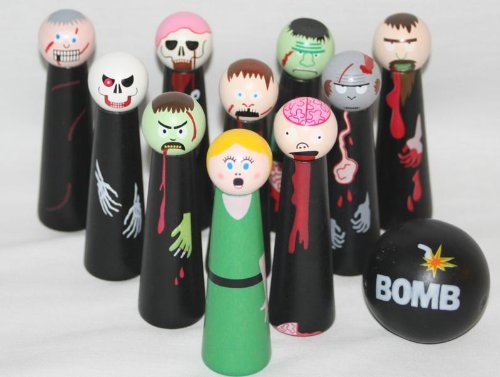 Zombie bowling gifts for guys who like zombies