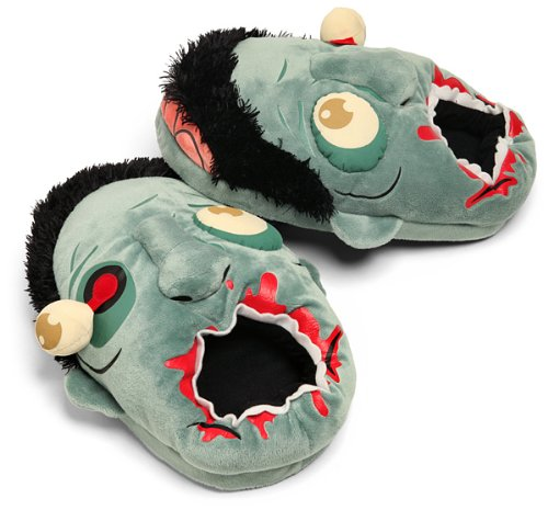 Zombie Slippers Valentine's Day gifts for men who like zombies