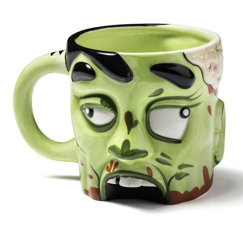 Zombie coffee cup