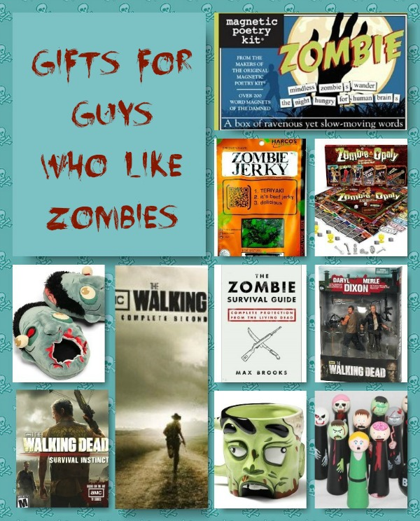 Gifts for Guys Who Like Zombies