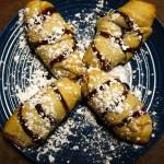Sweet Cream Strawberry Stuffed Crescents Dessert Recipe
