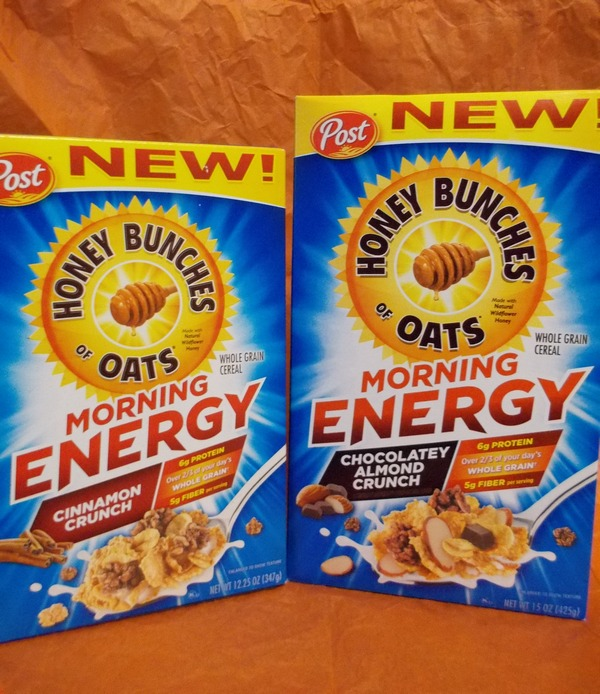 Honey Bunches of Oats Morning Energy