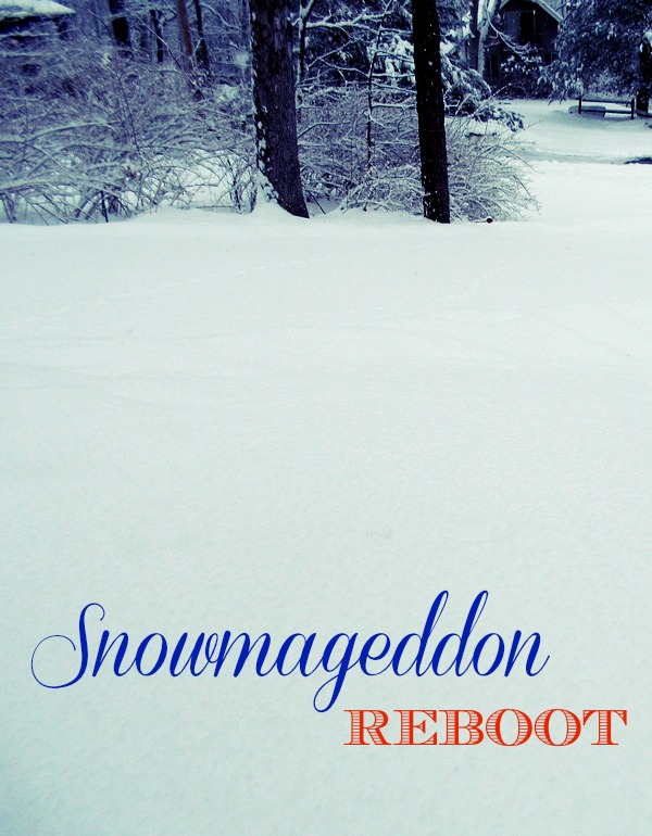 It's a Snowmageddon Reboot!