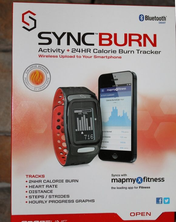 SyncBurn fitness band