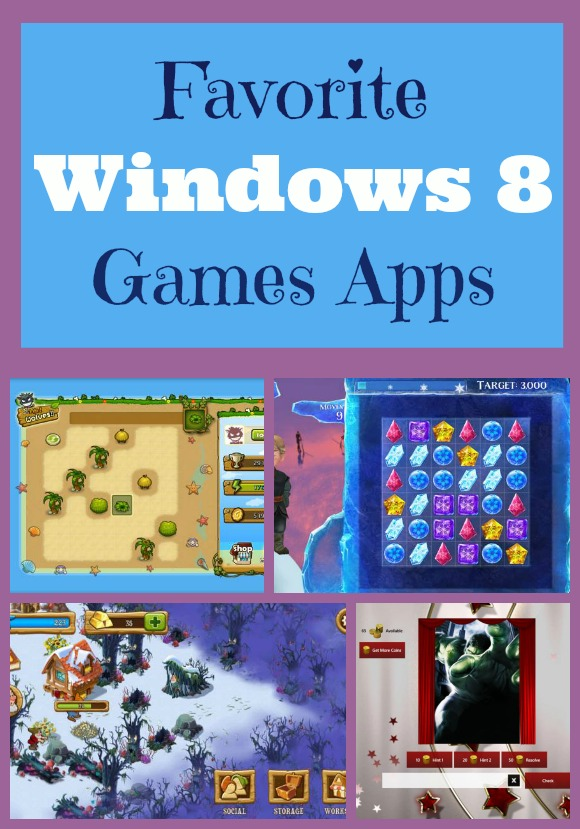 My Five Absolute Favorite Windows 8 Games Apps