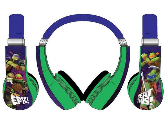 Ninja Turtle Headphones: Ear-Safe Fun For Your Kids' Entertainment Needs
