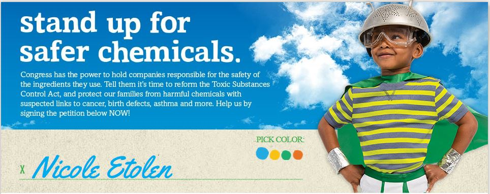 Stand Up For the Future by Standing Up for Safer Chemicals