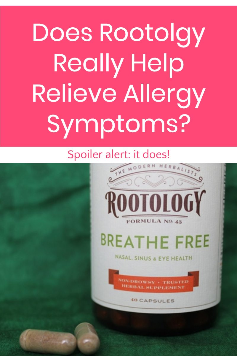 Does all-natural Rootology Breathe Free really help relieve allergy symptoms? Find out how it worked for me!