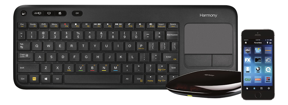 Logitech Keyboard and app image