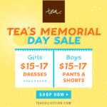 Check out Tea Collection's Memorial Day Sale!
