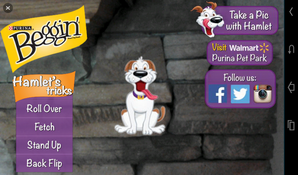 Beggin 3 Get Interactive with Hamlet the Beggin'® Strips Pooch!
