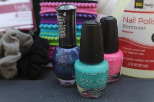 Summer beauty essentials from Dollar General: Nail Polish
