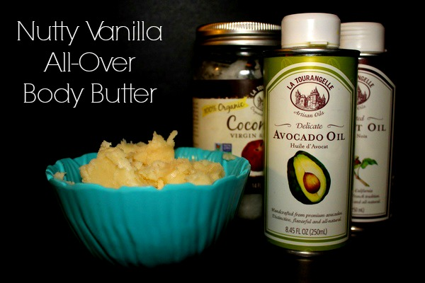 Nutty Vanilla Body Butter Recipe