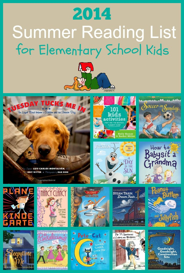 2014 Summer Reading List Elementary