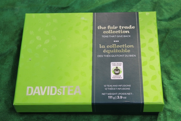DAVIDsTEA Fair Trade Collection: Yummy Teas that Give Back