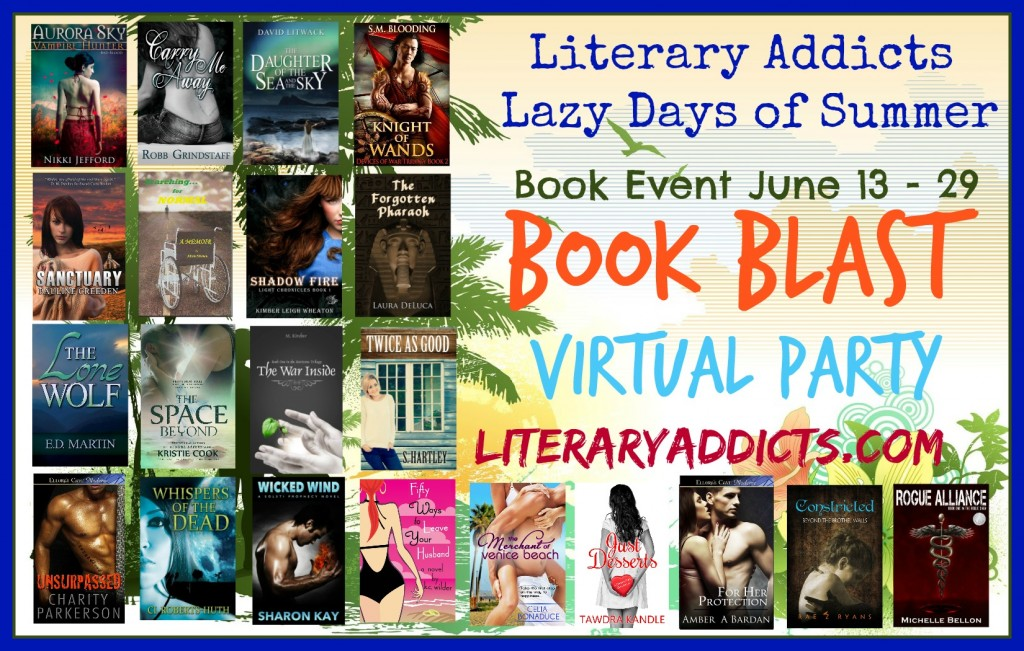 Lazy Days of Summer Literary Addicts Book Blast: $50 Amazon Gift Card & Books Giveaway