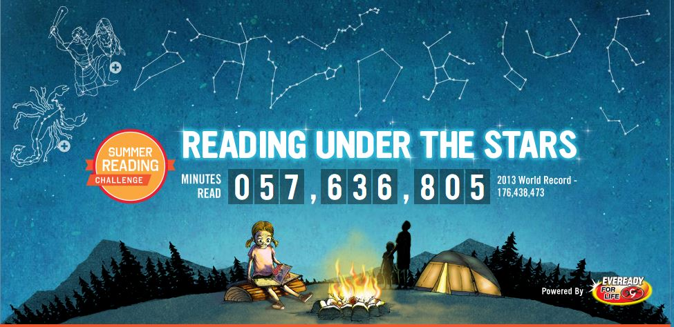 Kicking off Our Scholastic Summer Reading Challenge #SummerReading