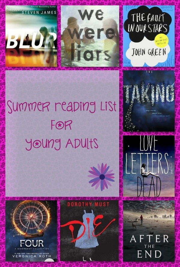 2014 Summer Reading Lists for Young Adults