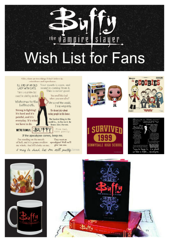 Buffy the Vampire Slayer Must-Haves for Fans