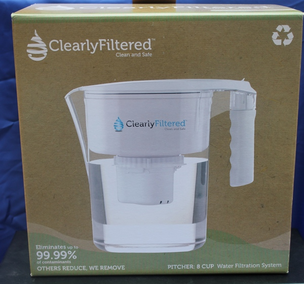 ClearlyFiltered Clean Water Pitcher Makes Nasty Water Palatable!