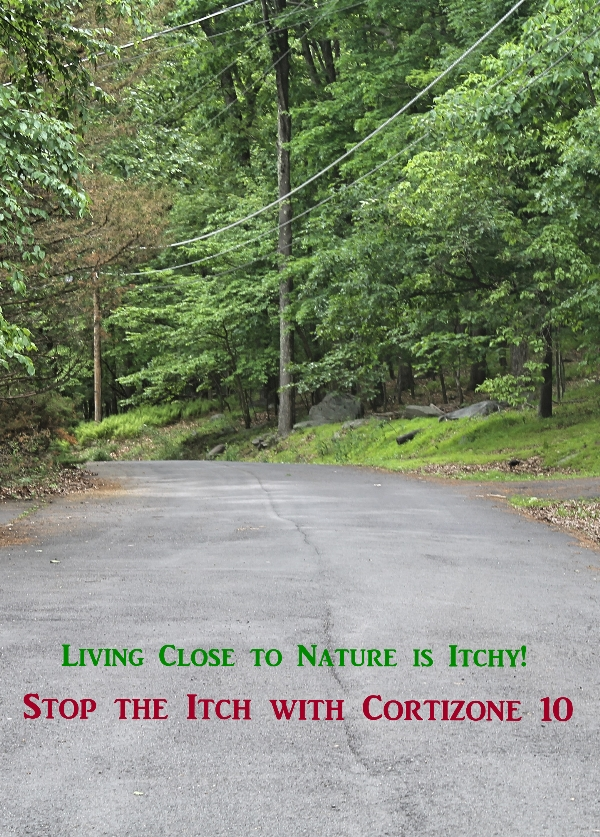 Nature is Itchy. Cortizone10 stops the itch.