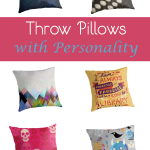 Throw Pillows with Personality for the College-Bound & the Cool