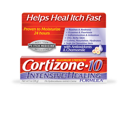 Cortizone 10 Intensive Healing Formula Takes the Itchy Bummer out of Summer