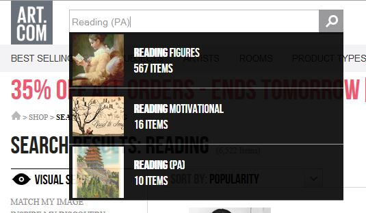 ArtCom Searching Reading Category