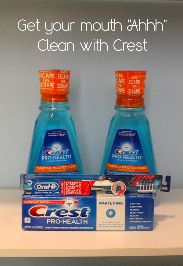 Give Your Mouth that Ahhh Feeling with Crest ProHealth