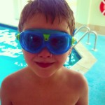 Learning to Swim with Aqua Sphere Seal Kid 2