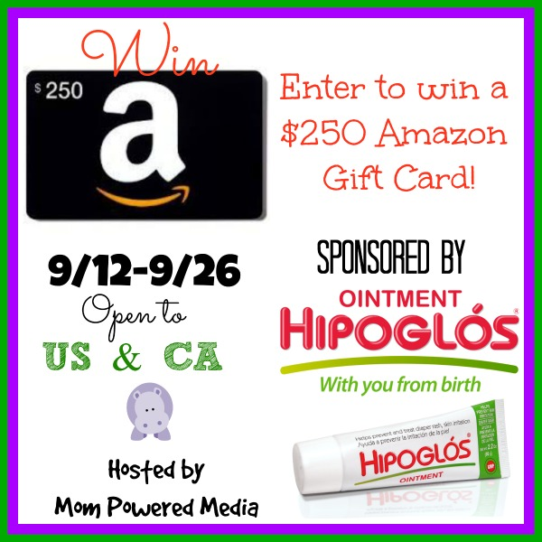 $250 Amazon Gift Card Giveaway from Hipoglos