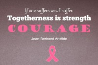 Breast Cancer Awareness: Togetherness is Strength