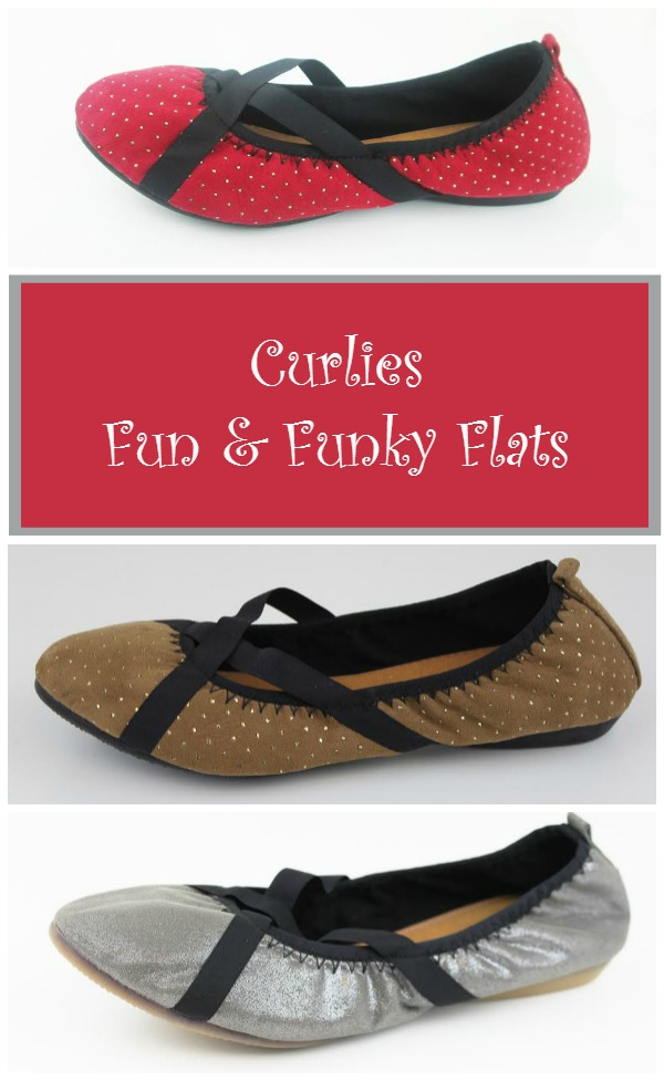 Curlies Fun & Funky Flats | PrettyOpinionated.com #FashionistaEvents