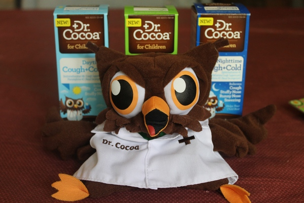 Dr. Cocoa Take Some of the Challenge Out of Medicating Your Sick Child