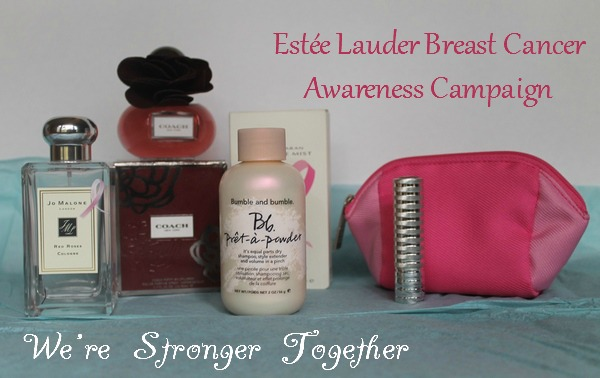 We're Stronger Together: Stand Against Breast Cancer with Estée Lauder