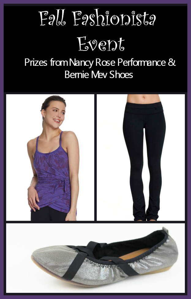 Fall Fashionista Giveaway Event: Nancy Rose Performance & Curlies Flats Giveaway ($216 Value) #FashionistaEvents