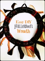 Easy DIY Halloween Wreath