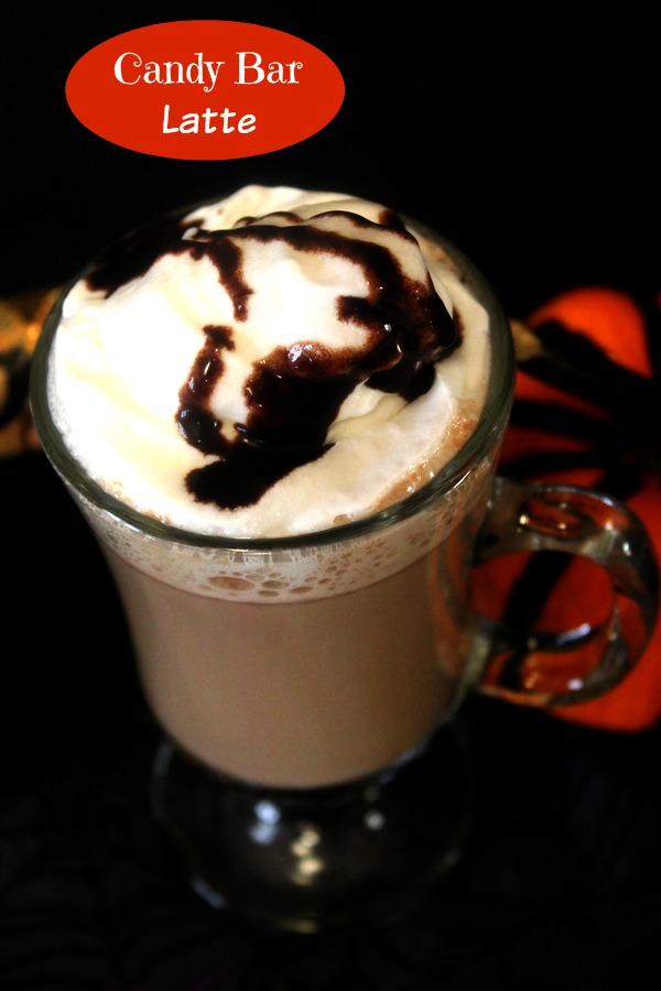 Halloween Candy Bar Latte Recipe with Legit Organic