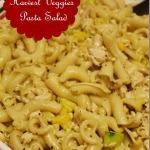 Chicken & Fall Harvest Veggies Hot Pasta Salad Recipe