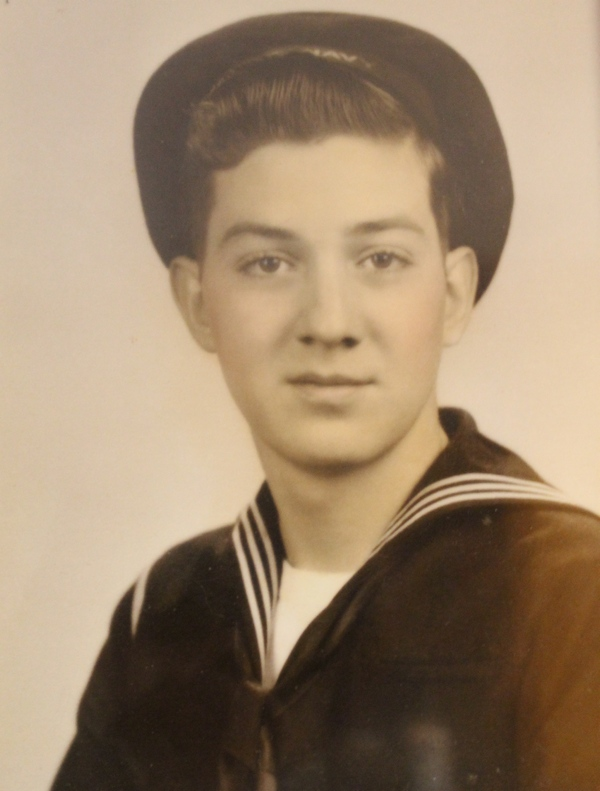 My grandfather, one of the many Sailors in my family.